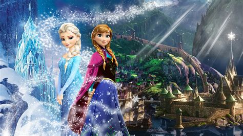 anna und elsa film teil 2 frozen 1920x1080 elsa and anna of arendelle 2 by