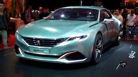 peugeot exalt concept the peugeot exalt concept car w 340hp detailed looks