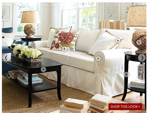 pottery barn livingroom pottery barn living room spaces