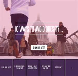 10 Ways To Avoid Obesity by 10 Ways To Avoid Obesity Diet
