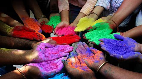 colored powder no holi student voices