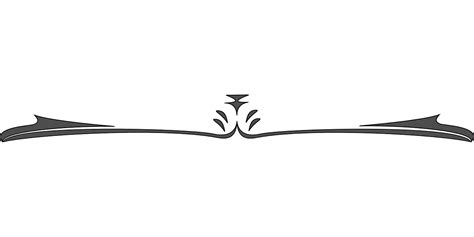 decorative line html simple decorative line divider clip art