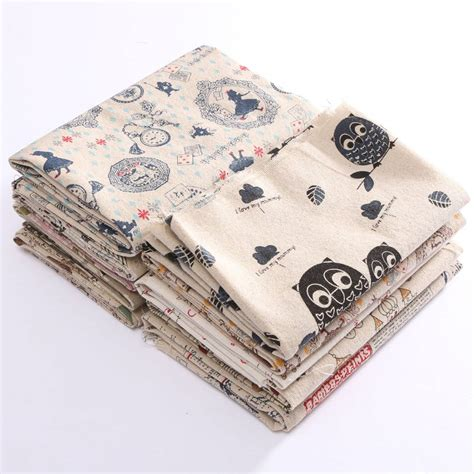 Cotton Patchwork - pattern cotton linen fabric cloth patchwork for