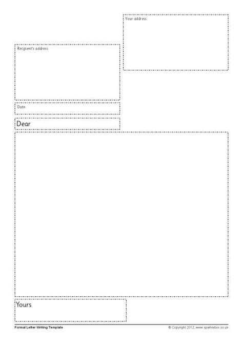 Letter Frame Ks1 Frame Design Reviews Letter Template Ks1