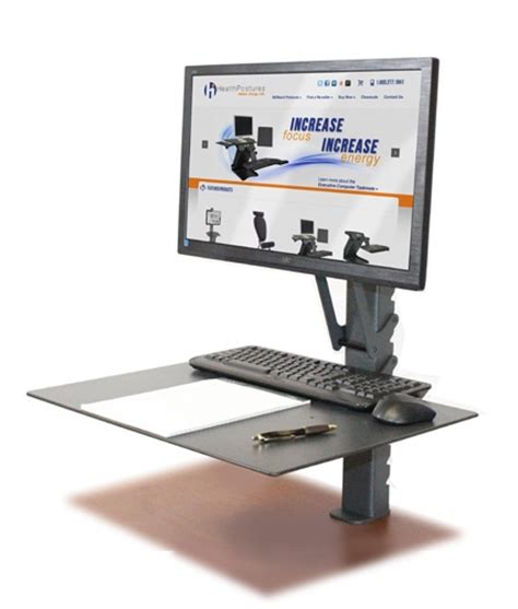 Sit Stand Workstation Fight Sitting Disease Ergonomic Laptop Desk Portable Workstation