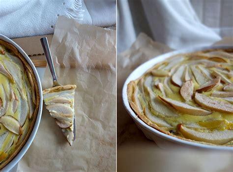 kuchen rezept einfach schnell birnen tarte mit schokolade schneller kuchen der