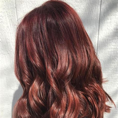 mahogany brown hair but want highlights what will it look like how to get mahogany hair color wella professionals