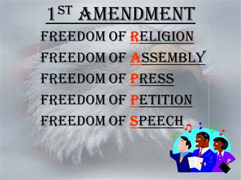 Freedom To Assemble Is Outlined In Which Amendment by The Bill Of Rights 1791 Ppt