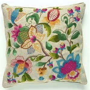 Embroidery Cushion Kits Cw 409 Crewel Embroidery Cushion Kit