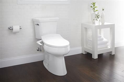 kohler    puretide manual cleansing elongated toilet