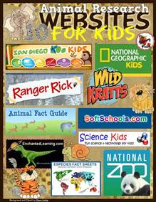 animal research websites for kids classroom freebies