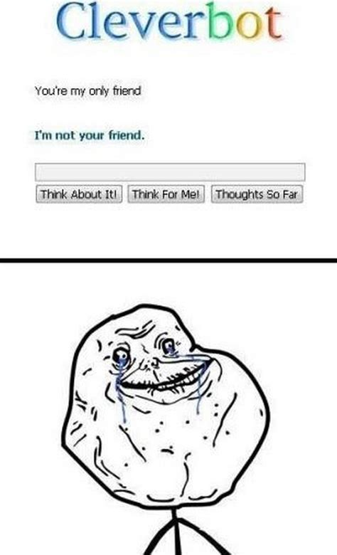 Forever Alone Meme Picture - forever lonely meme pictures to pin on pinterest pinsdaddy