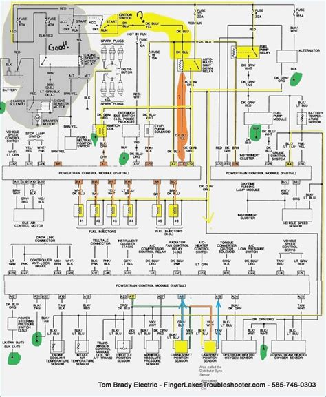 1996 jeep grand pcm wiring diagram free