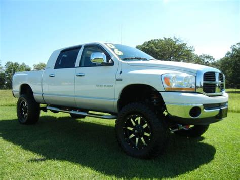 2006 dodge ram lifted buy used lifted 2006 dodge ram 1500 mega cab in