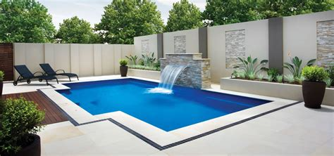 Installing Pavers In Backyard The Elegance Leisure Pools Usa