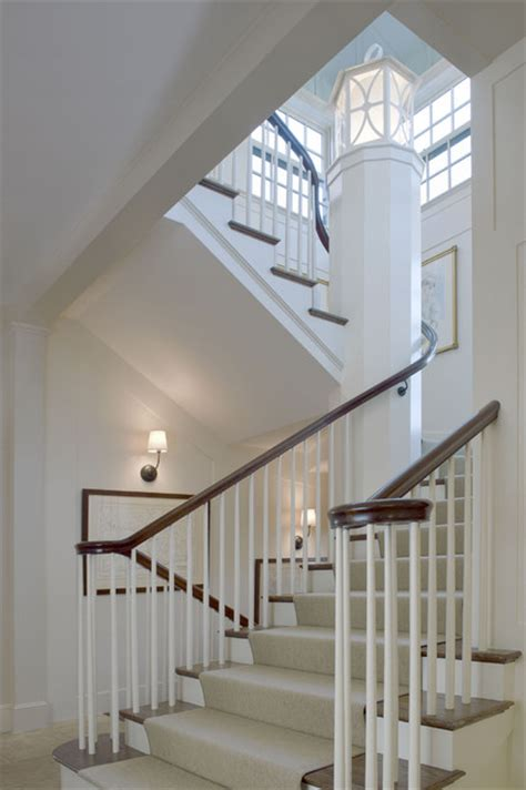 hillside farmhouse traditional staircase boston