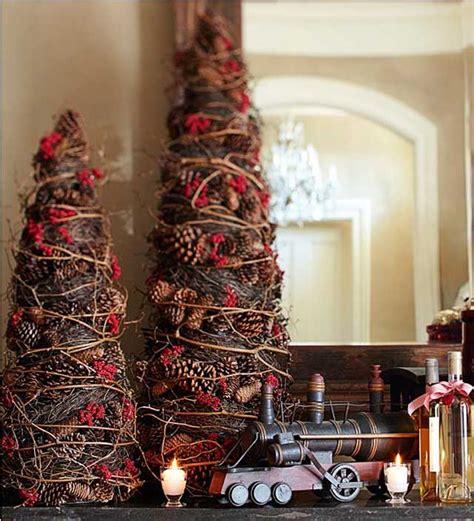 rustik chateaux 7 arboles de navidad quot mini quot para tu recibidor
