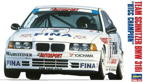 124 Bmw 318i Btcc Team Schnitzer Hasegawa hasegawa 20271 1 24 team schnitzer bmw 318i 1993 btcc chion no 1 2 winkelhock soper