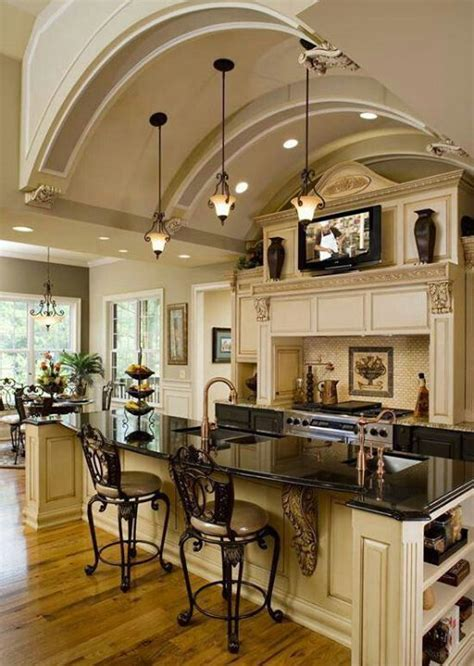 top of kitchen cabinet decor beautiful homes pinterest my dream kitchen dream home pinterest