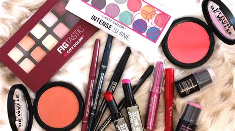 city color makeup cruelty free makeup haul styli style city color