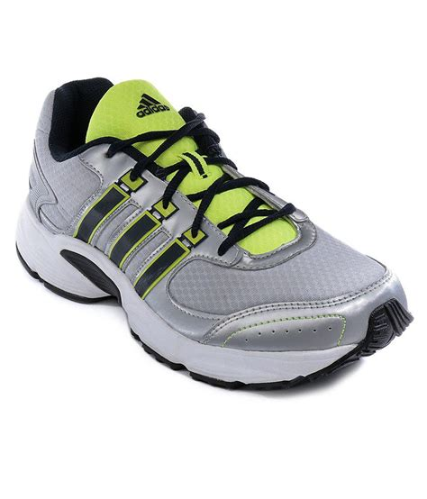 adida sports shoes adidas vanquish silver sport shoes price in india buy