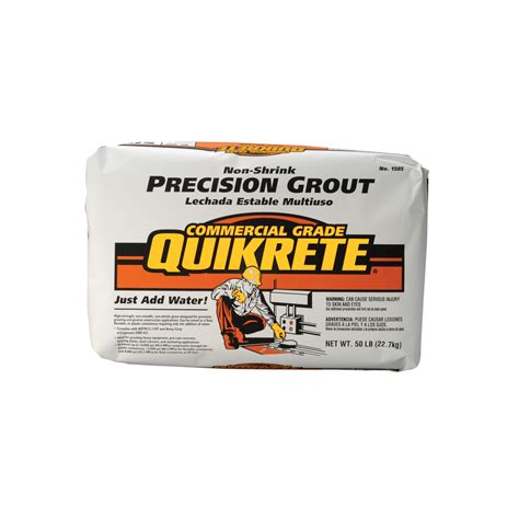 shop quikrete 50 lbs non shrink precision grout at lowes