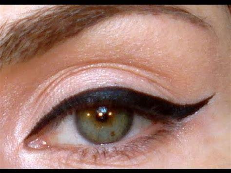 perfect winged eyeliner tutorial youtube perfect eyeliner tutorial youtube