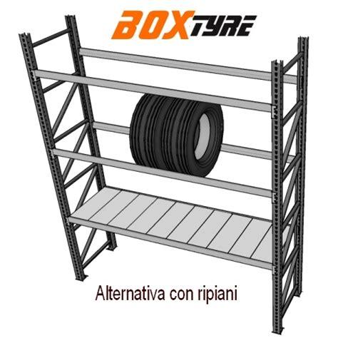 metro scaffali scaffalatura per pneumatici larghezza 1 metro per box