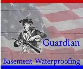 home basement waterproofing guardian basement