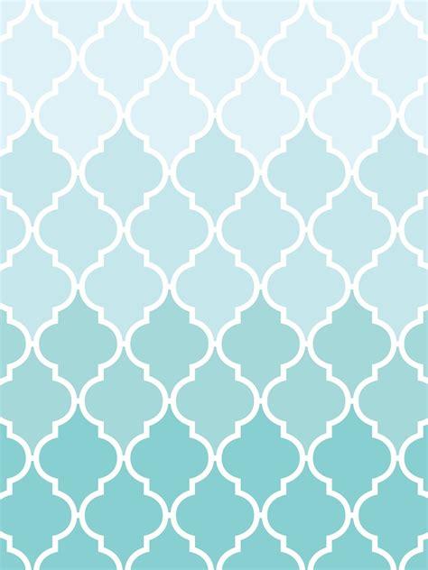 quatrefoil wallpaper  iphone ipad ombre pink aqua