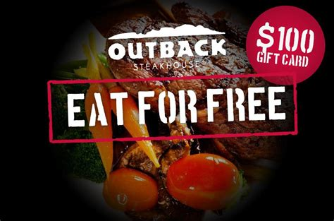 Outback Steakhouse Gift Card - free outback steakhouse gift card