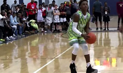 Lebron Jr Also Search For Lebron Jr Dominate Opponents During Aau All