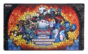 yugioh 2014 regionals wcq ghostrick playmat mat ebay