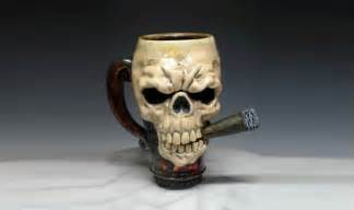 Unique Shaped Coffee Mugs coolest 53 skull coffee mugs you ll find around number
