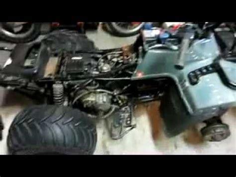 Suzuki King 300 Battery Walk Around Of My Project 96 Suzuki King 250 4x4