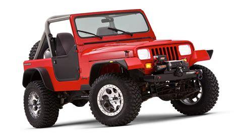 jeep fender flares bushwacker flat style fender flares for 87 95 jeep