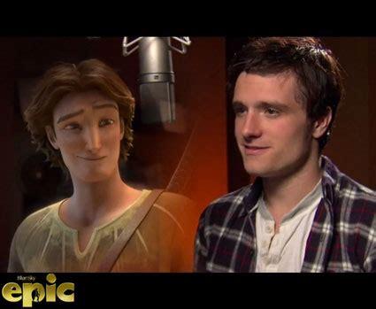 epic film josh hutcherson josh hutcherson talks being animated in new film epic watch
