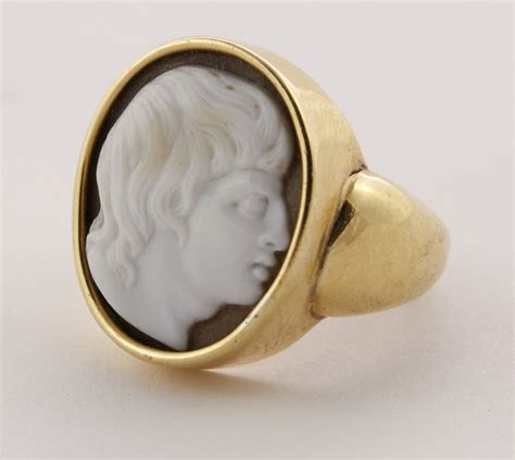 antique jewelry cameo ring the great at 1stdibs