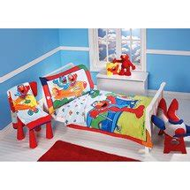 Elmo Toddler Bedding Set Sesame Elmo Aviator 4 Toddler Bedding Set Everything Else