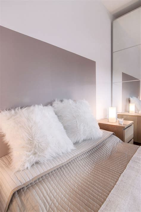 Fond De Lit by Chambre Cocooning Taupe Beige Et Blanc Chambre Cosy Tete