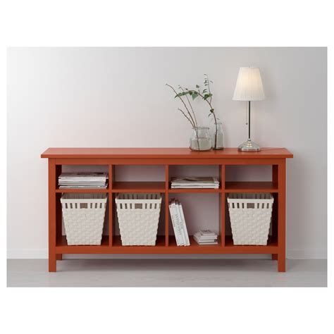 ikea hemnes console table hemnes console table redbrown 157x40 cm ikea