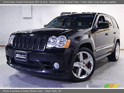 jeep srt 2009 brilliant black pearl 2009 jeep grand
