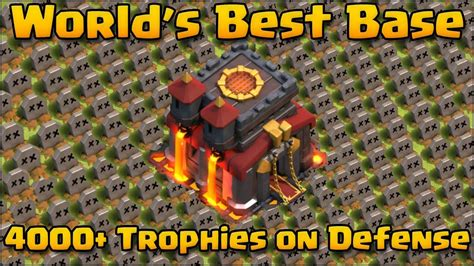 best of the clash clash of clans world s best base 4200 trophies must