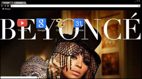 themes for google chrome stylish 13 beautiful beyonc 233 chrome themes for real fans of the