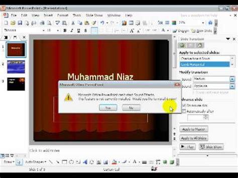 powerpoint tutorial 2010 in urdu using slide transition in microsoft powerpoint in urdu