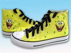 Sepatu Lukis Spongebob Tali 1 sepatu lukis spongebob edition sepatu lukis untuk semua