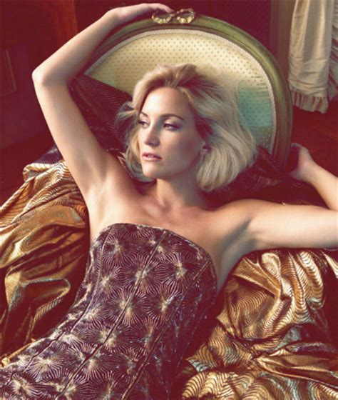 Kate Turns For Us Harpers Bazaar by Kate Hudson Images Kate S Bazaar Us October