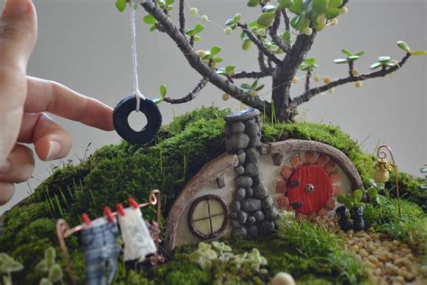 miniature garden houses hobbit house miniature garden by pir tucker craftsy