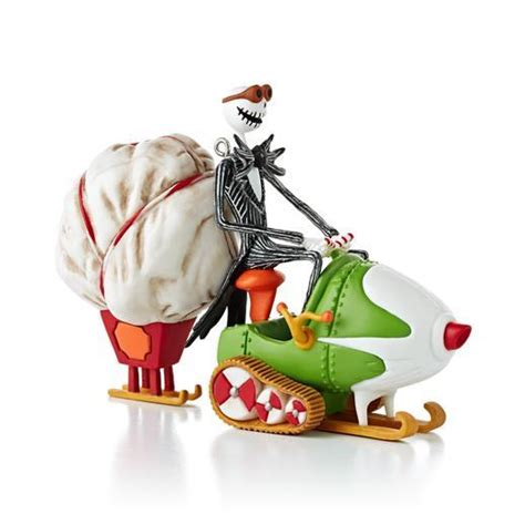 The Nightmare Before Ornaments - hallmark 2013 nightmare before jacks sleigh o