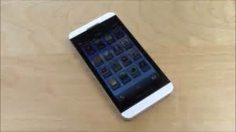 blackberry z10 white video profile youtube